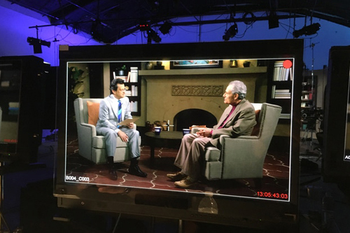 Arnold Leibovit guest hosts with Ben Mankiewicz on Turner Classic Movies